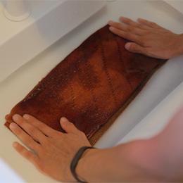 ミニマフラーの洗い方