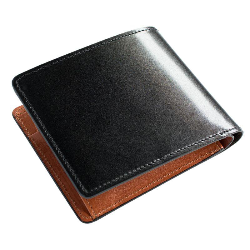 【左利き用】コードバン二つ折り財布