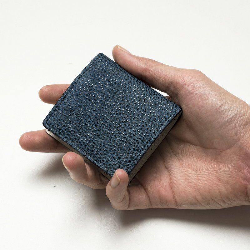 黒桟革コインケース
