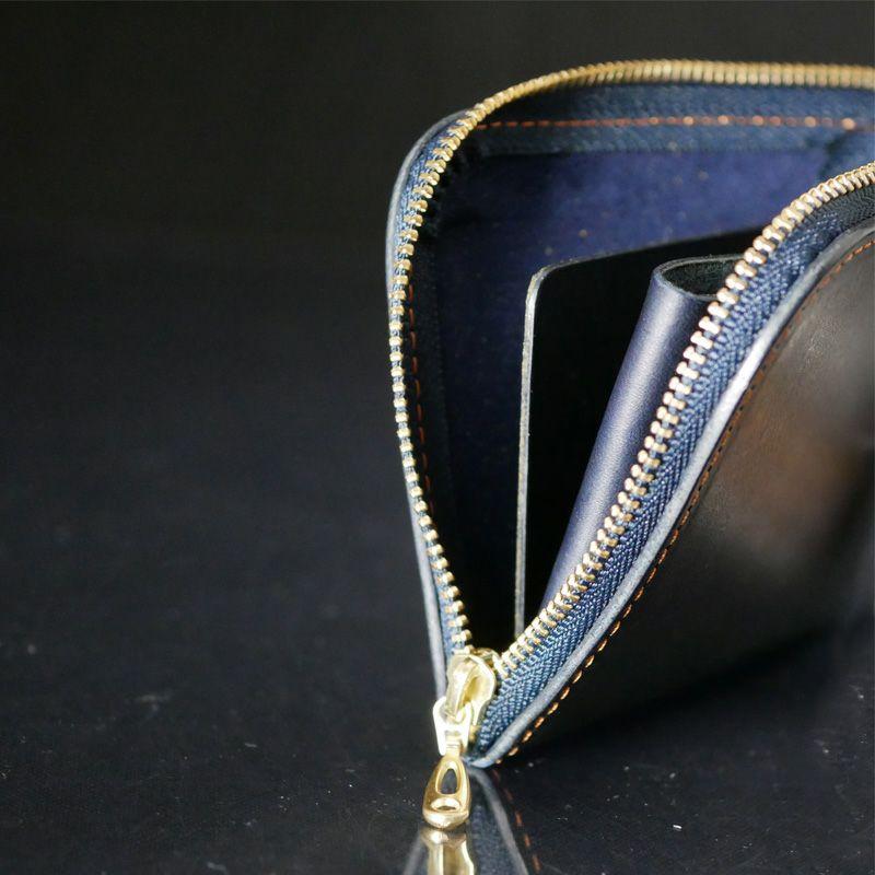 財布 ファスナー部分2
