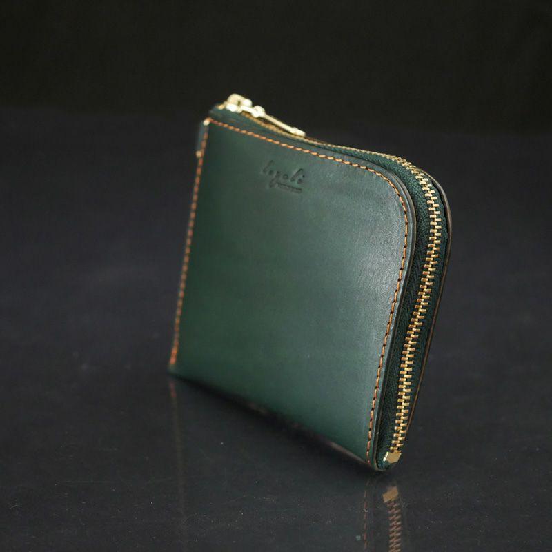 財布 グリーン